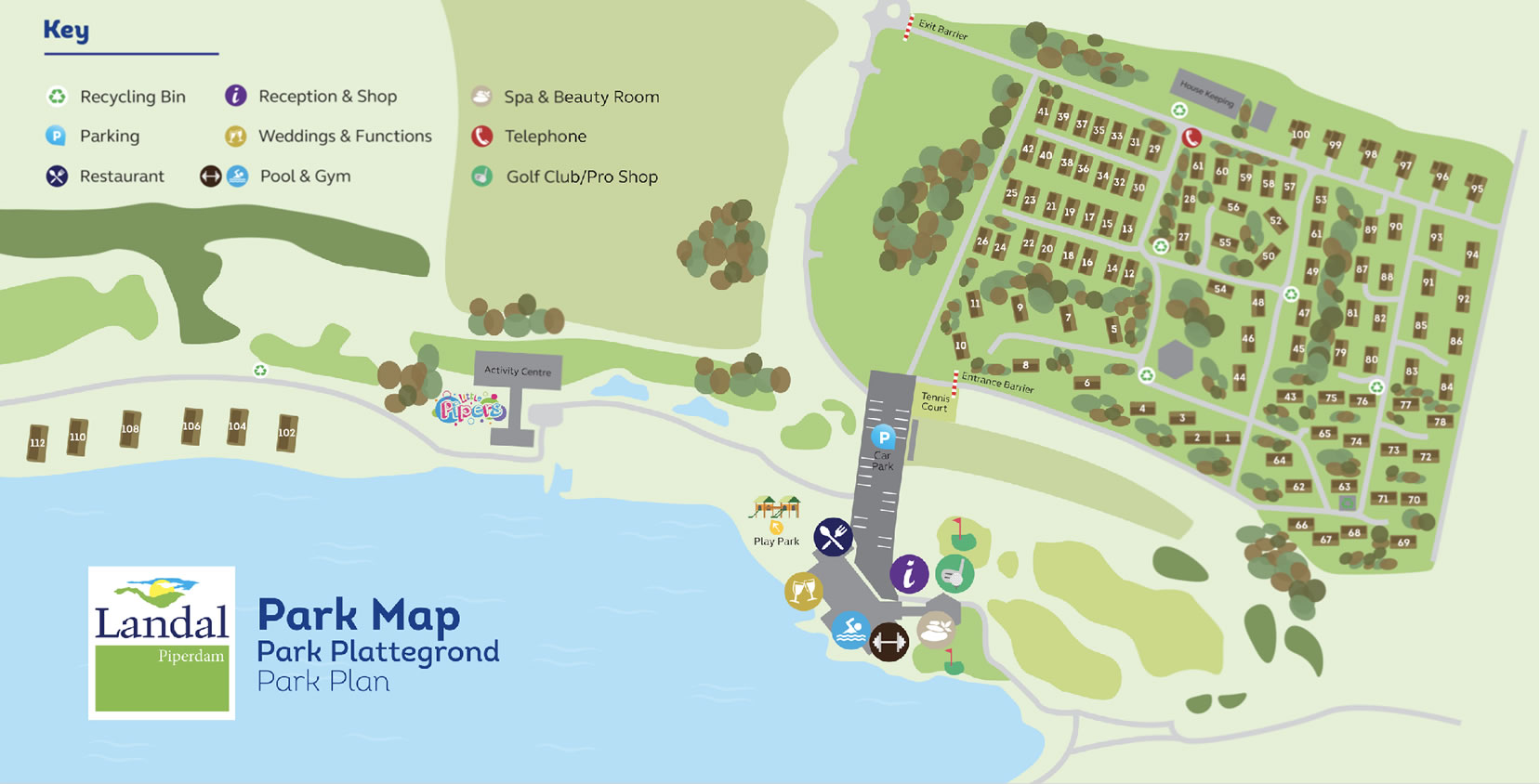 Resort Map | Piperdam